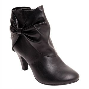 Twisted Boots - Twisted Lillian Ankle Bootie.