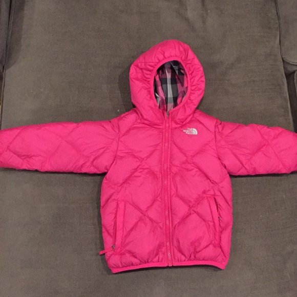 863bf1eab Toddler Girls Reversible Perrito North Face Jacket