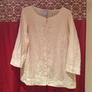 Gap Maternity silk blouse