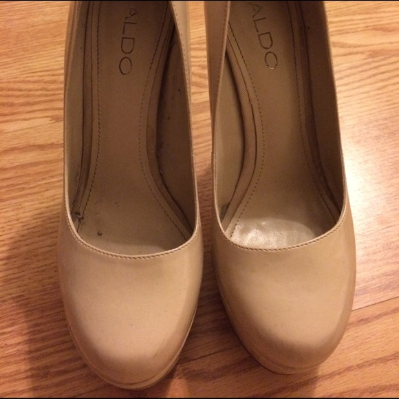 64% off ALDO Shoes - Aldo nude heels size 6 from Cristhina&39s
