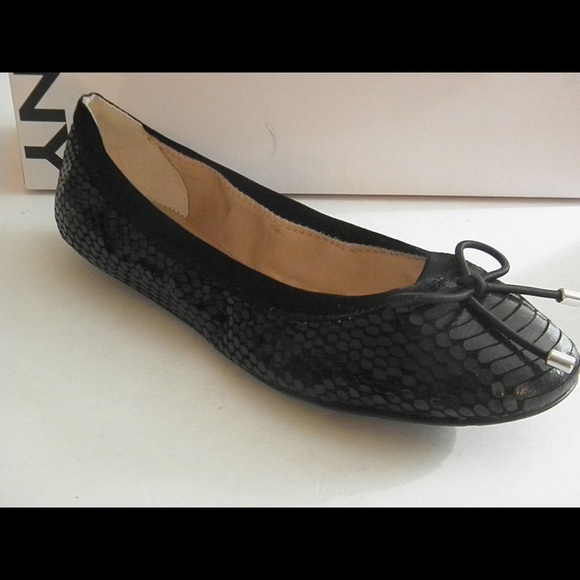 Dkny Woman Metallic Leather Ballet Flats Silver Size 7 DKNY iqk4vs0t5G