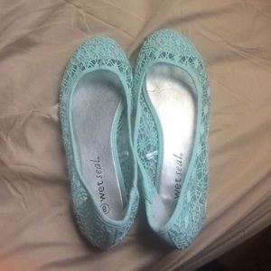 Turquoise flats