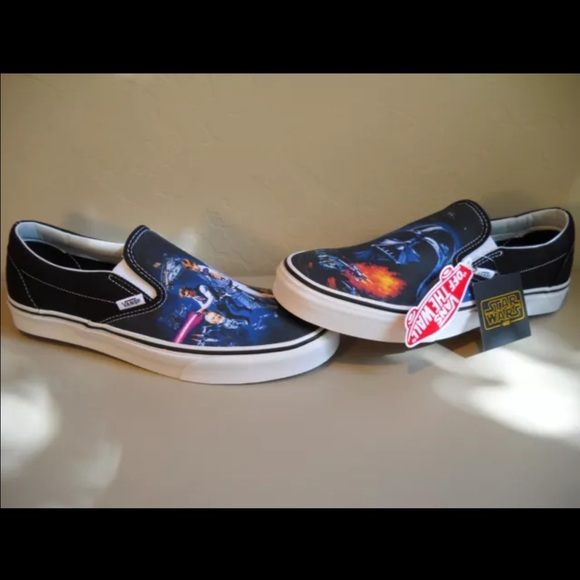 e8c0984988 Vans Star Wars a new hope limited edition slip ons