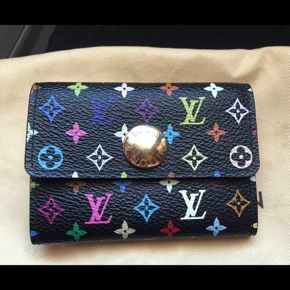 69e23cd94f94 Louis Vuitton Clutches   Wallets - Authentic Louis Vuitton Multicolor Small  Wallet