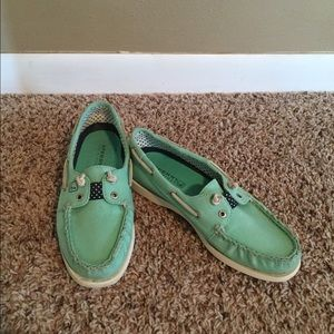Sperry Top-Sider Shoes - Sperry Top-Sider canvas boat shoe