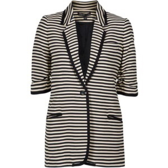 Elizabeth and James Jackets & Blazers - Elizabeth and James Preppy Striped Blazer