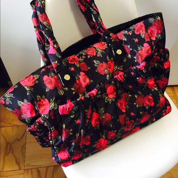 68 Off Betsey Johnson Handbags Betsy Johnson Rose Baby