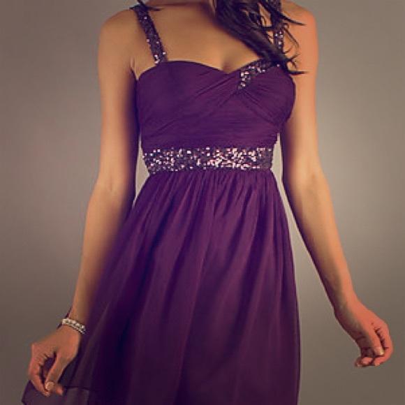 7fc0d692b3b0 dancing queen Dresses | Never Worn Purple Semi Formal Dress | Poshmark
