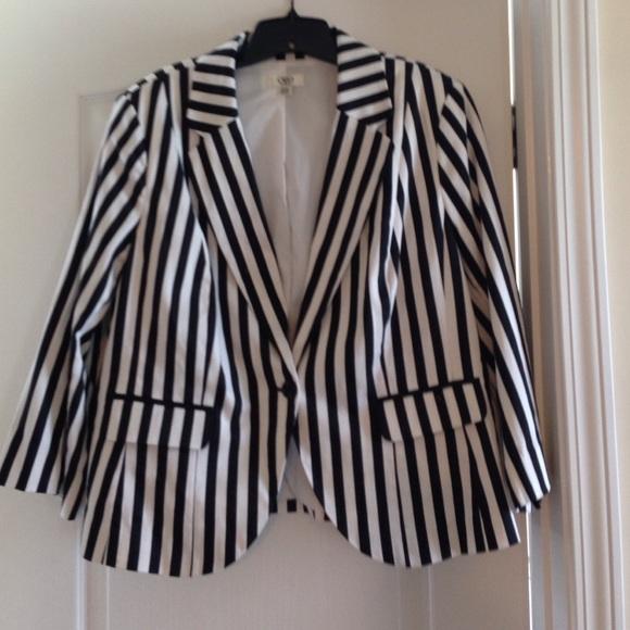 Plus-size women's plus size black blazer for women, including: Status Print Blazer Black - Jackets, Menswear Plaid Blazer Black White - Jackets, Single Button Ponte Blazer Black - Jackets, Plaid Print Blazer Jacket Black - Jackets.