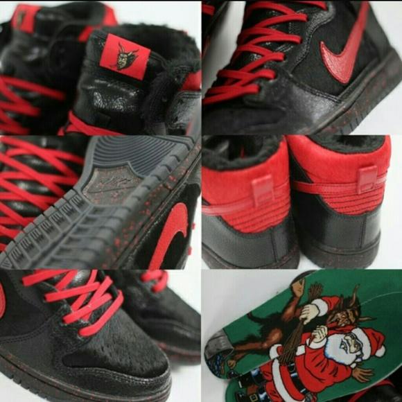 pretty nice 16445 8702b Nike sb high krampus NWT