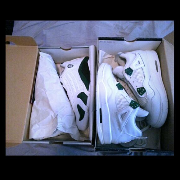 the latest 3318f 3d1d4 Jordan Shoes - Air Jordan Retro 4 Forest Green