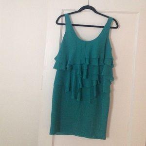 Zara Basic / Ruffled Dress