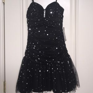 Betsy & Adam Dresses & Skirts - NEW Black Sparkly Dress