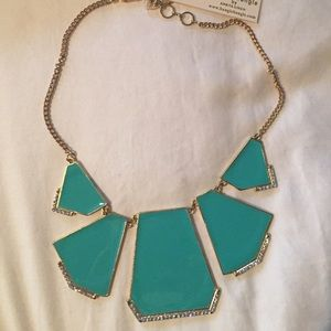 Turquoise statement necklace from Neiman Marcus