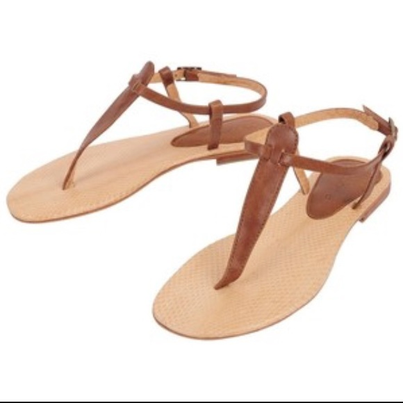 9db3aa58a243a2 Cocobelle Sophie Snakeskin Thong Sandal