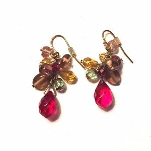 Jewelry - Multi-colored drop earrings