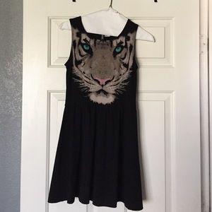 Fierce tiger dress