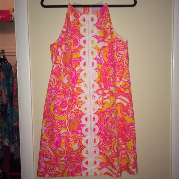 Lilly Pulitzer Sea And Be Seen Annabelle Shift From