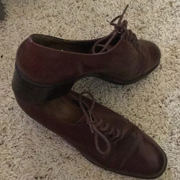 5aceee62c4 Hunt club Shoes - BROWN HUNT club leather oxfords 😍 Like new