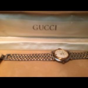 5650b99f450 Gucci Jewelry - 1988 vintage Gucci watch. Selling for  250!
