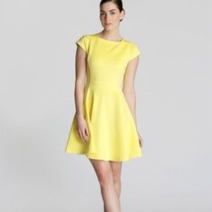 db75214e2f Ted Baker Dresses - Ted Baker Tezz Skater Dress Yellow Ted Size 3