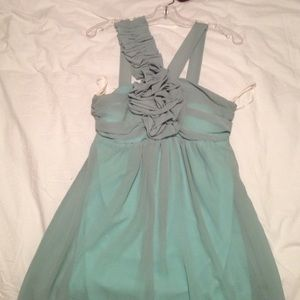 Seafoam cocktail dress