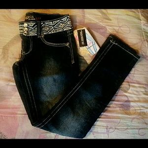 Angels Denim - Rhinestone Embellished Jeans