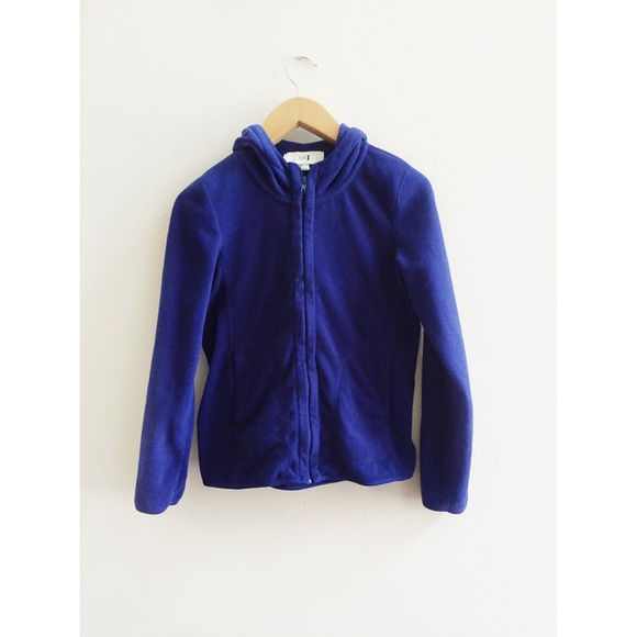 52% off Forever 21 Jackets & Blazers - F21 Royal Blue Fleece ...