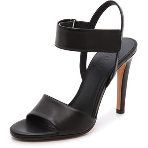 81 Off Vince Shoes Vince Genna Double Strap Leather