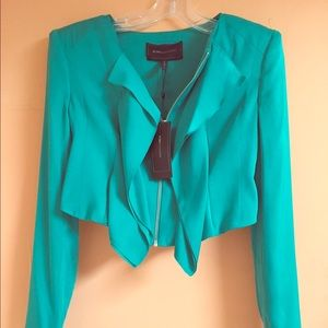 "BCBG Teal ""Preston"" Jacket, size XS"