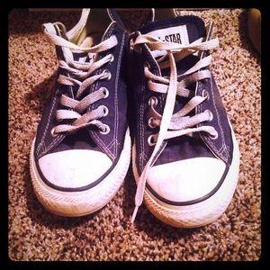 Converse Shoes - Navy blue Converse