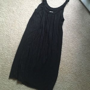 Alfani Dresses & Skirts - Beautiful & simple black soft tshirt dress tank