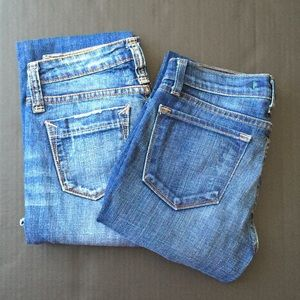 Bundle of 2 jeans
