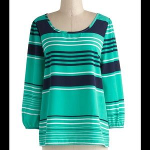 NWT MODCLOTH STRIPED TOP