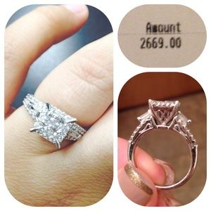 Zales Jewelry - ❗️SALE❗️14K white gold 1 1/4CTW engagement ring