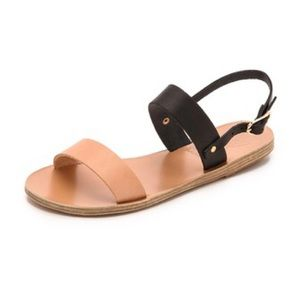 NWT Ancient Greek Clio Sandals
