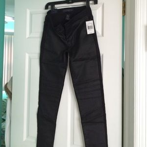BRAND NEW TINSEL DEMIN COUTURE BLACK PANTS