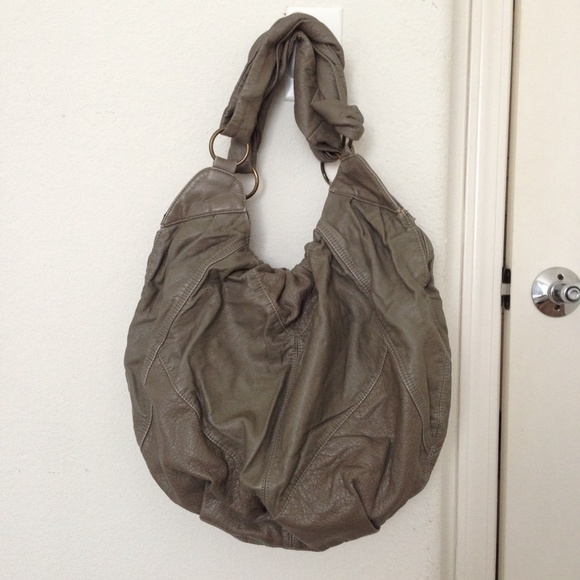 Urban Outfitters Bags Deux Lux Twist Handle Grey Hobo