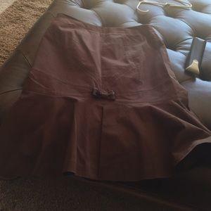 Brown Mac & Jac Skirt!