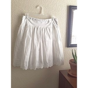 Dresses & Skirts - White Circle(ish) Skirt