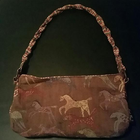 0ee3d6fc7d80 Laurel Burch Handbags - Laurel Burch Horse Handbag