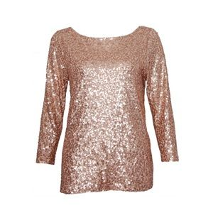 J. Crew Tops - J.Crew sequined top size XXS