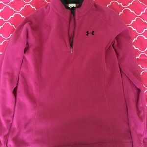 Pink Under Armour Pullover
