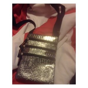 Silver cross body (ask for discounted shipping)