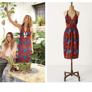 Anthropologie Spinning Lights Dress