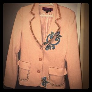 Gorgeous dusty pink blazer jacket. Size S/M