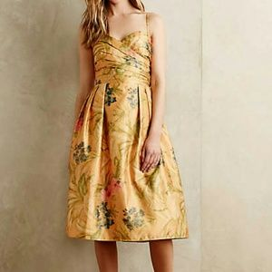 Host Pick Anthropologie Yellow Dress