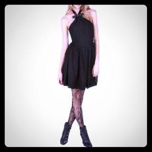 Rodarte for Target black halter dress