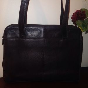 Leather Brief case/purse