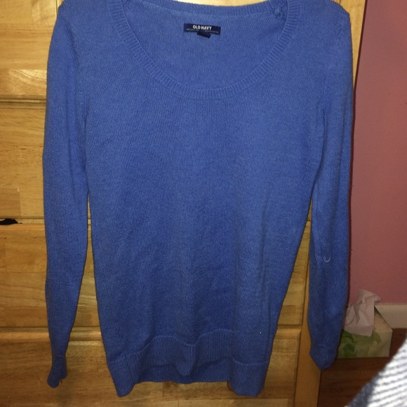 30% off Old Navy Sweaters - plain blue sweater from Amelia's ...